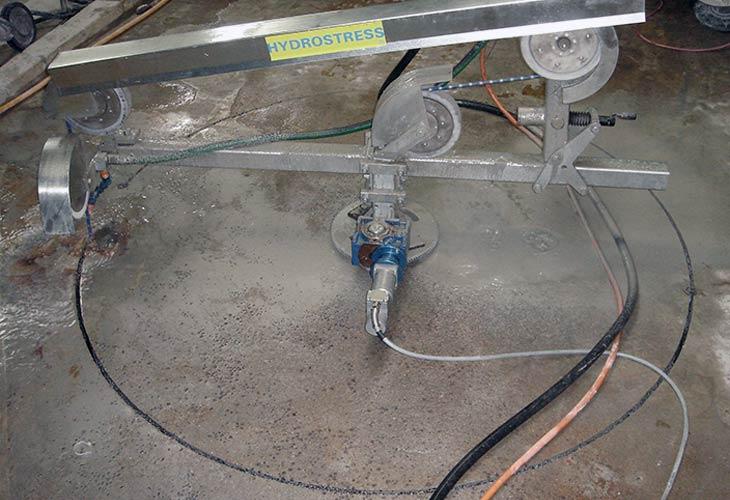 Rezanje betona dijamantnom sajlom