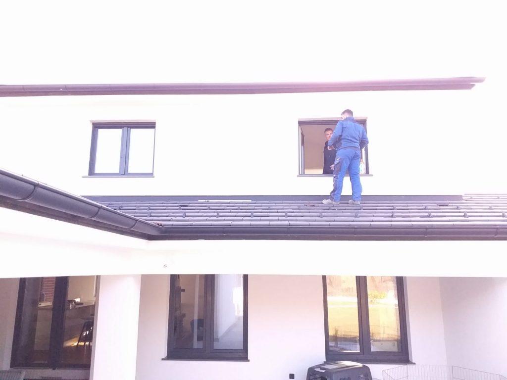 Rezanje otvora za prozor, bez oštećenja fasade prije